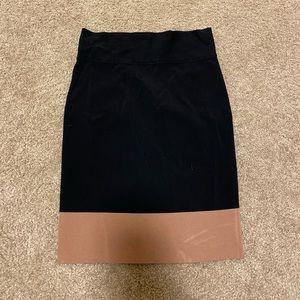 New Express stretch midi skirt